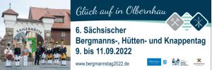 6. Sächsischer Bergmannstag 2022 @ Olbernhau