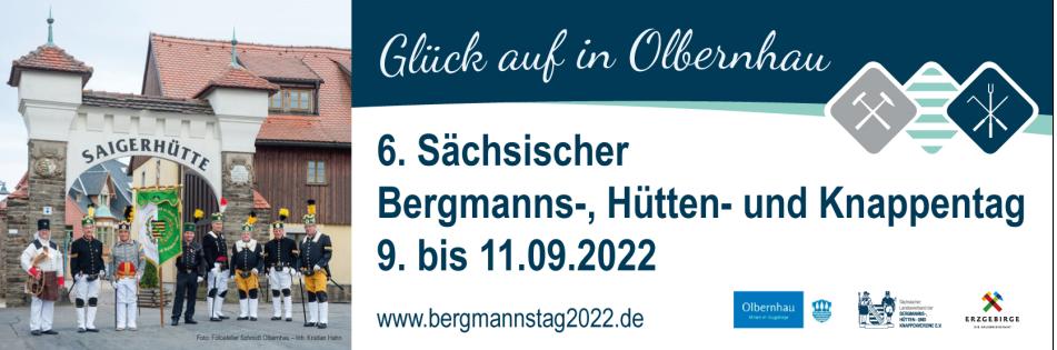 6. Sächsischer Bergmannstag 2022