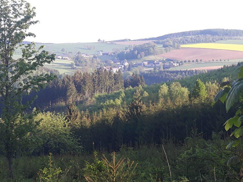 Blick auf Dittersbach