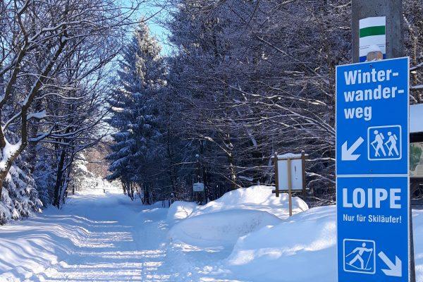 Winterwanderweg Bad Einsiedel