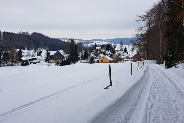 Blick auf OT Frauenbach